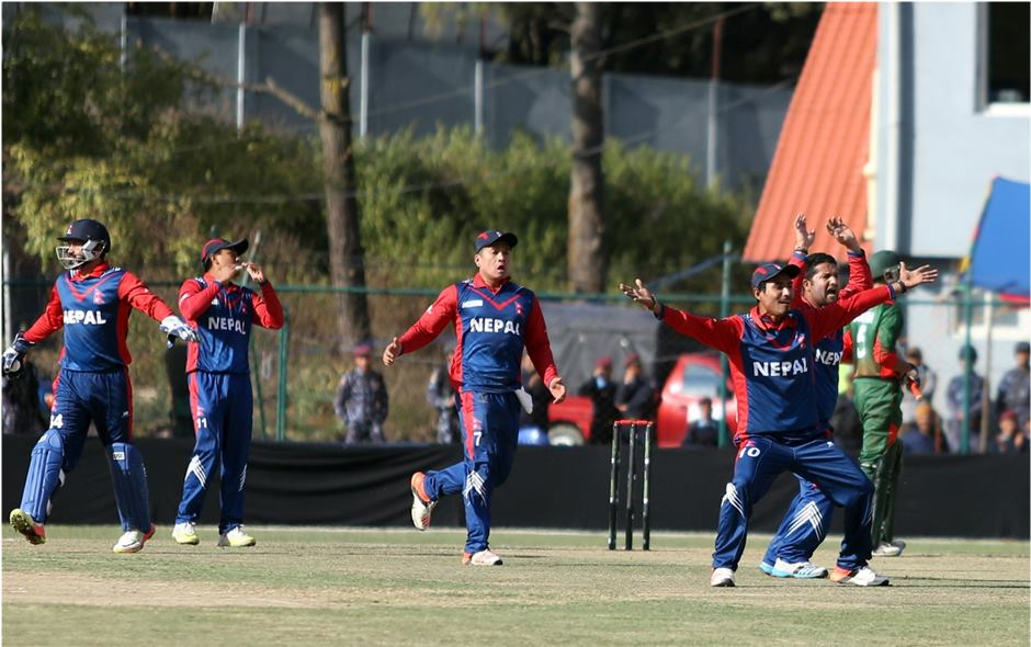 ICC world league cricket championship: Nepal beats Kenya by seven wickets