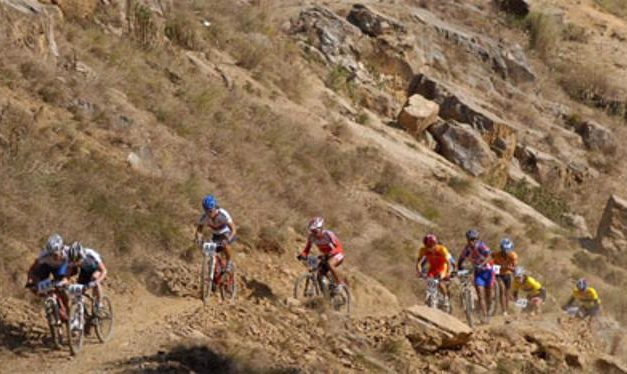 Asian Mountain Bike race from April 6