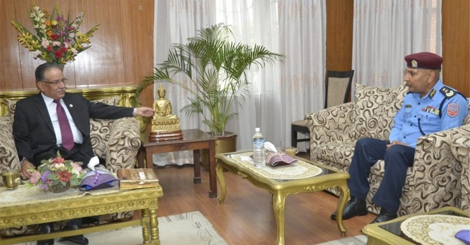 PM directs newly appointed IGP Aryal to maintain peace and security