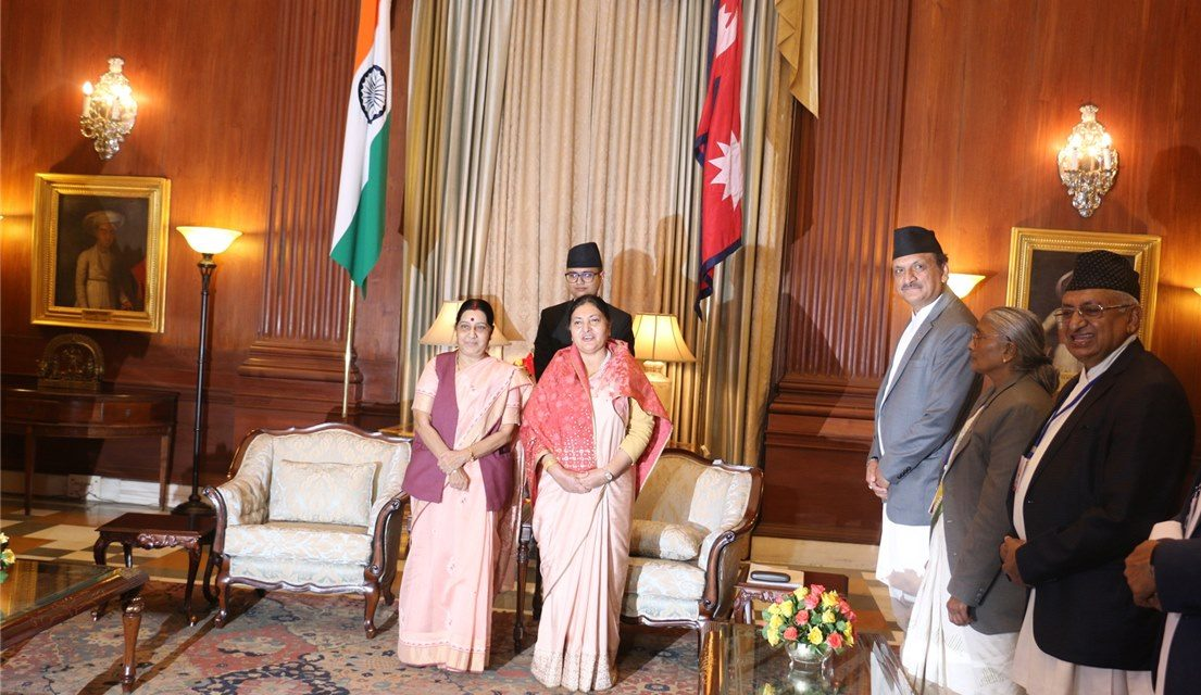 नेपाल निर्वाचनमार्फत संविधान कार्यान्वयनमा लागिपरेको छः राष्ट्रपति भण्डारी
