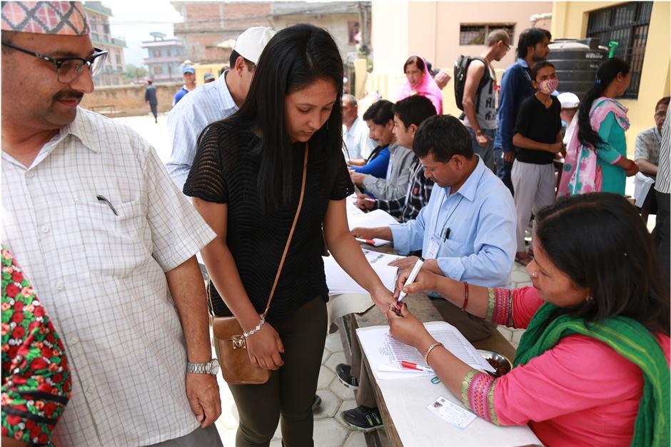 Re-polling in Changunarayan-6 on Wednesday