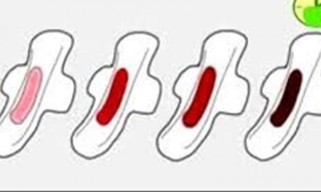 महिनावारीमा यी ५ रंगको रगतबाट थाहा पाउनुस् स्वस्थ हुनुहुन्छ कि अस्वस्थ