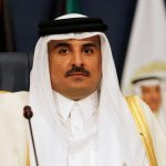 Qatari emir calls for peaceful means to solve Gulf diplomatic crisis