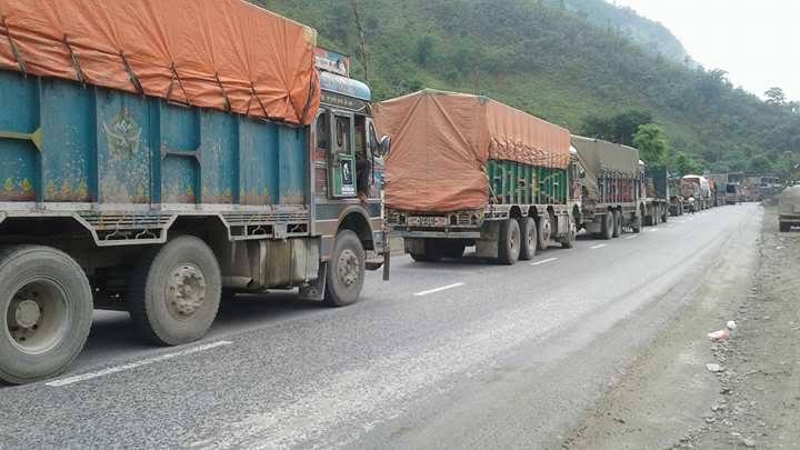 Transportation resumes along Narayangadh – Muglin route after fresh landslide