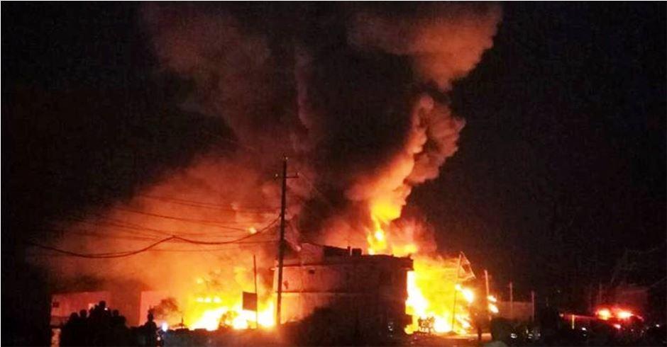 केटाकेटीले आगाे खेलाउँदा आगलागी, चार घर नष्ट