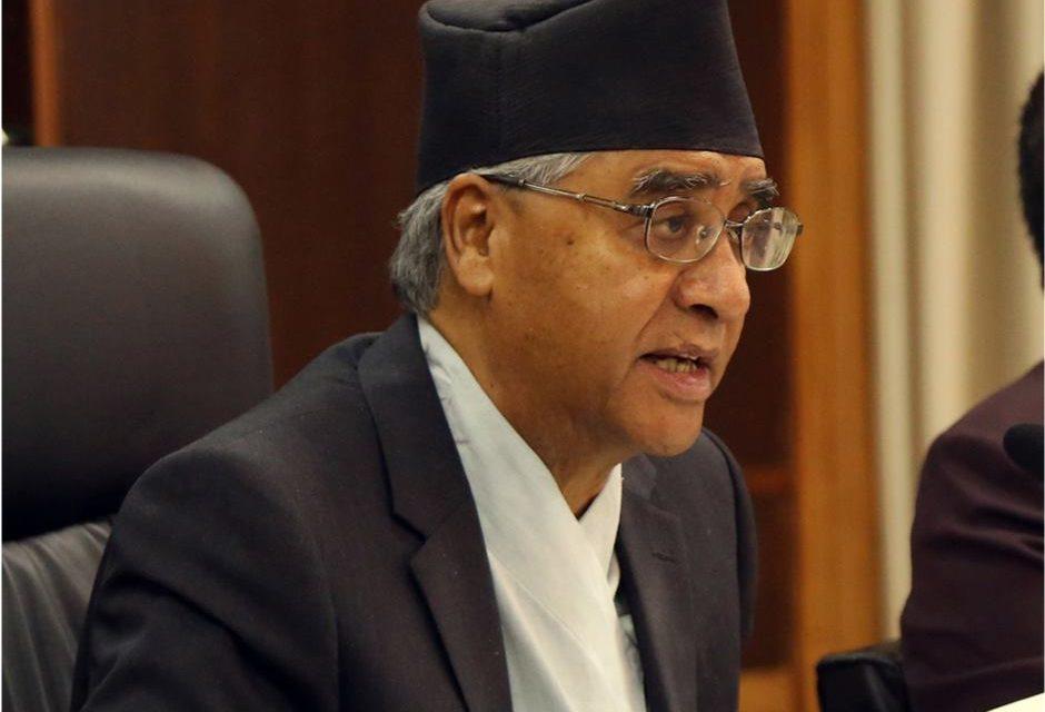 PM Deuba extends best wishes