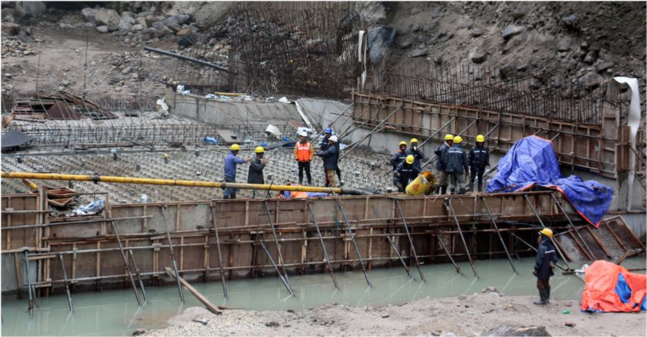 40 % complete in Rasuwagadhi hydropower project