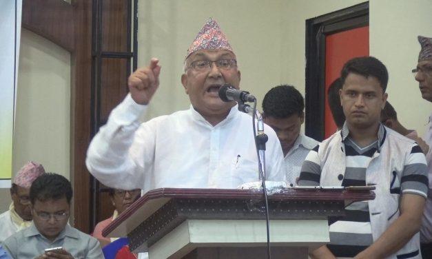 केपी ओलीले भने-'कठैबरी, दुर्गा भवानीले अदालतको स्वाधिनताको रक्षा गरुन्'