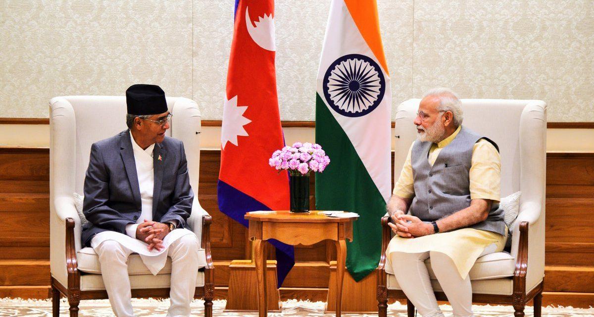 होला त नेपाल माथिको भारतीय कोर्ष करेक्सन ?
