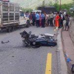 टिपरको ठक्करबाट मोटरसाइकल चालकको मृत्यु