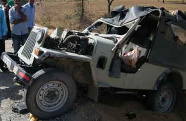 जीप दुर्घटना हुँदा २ जनाको मृत्यु