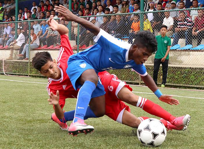 SAFF U-15, Nepal into semi-final