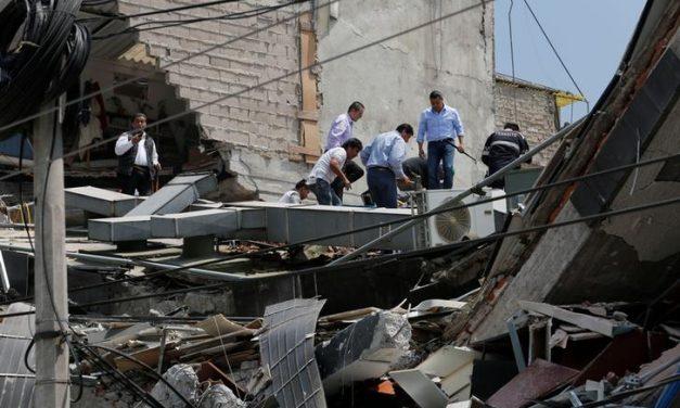M7.1 quake kills at least 134 in Mexico