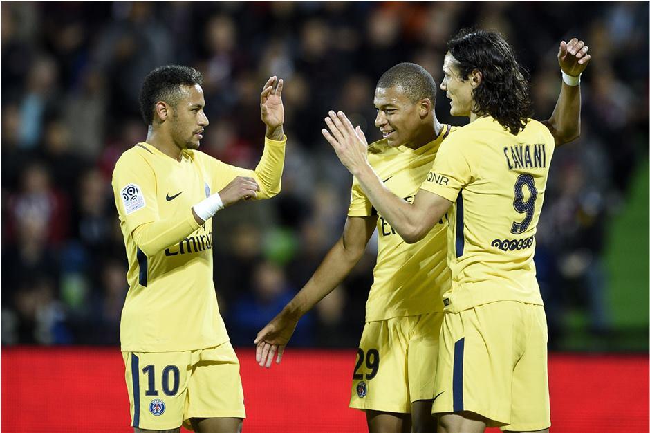 फ्रेन्च लिग वान फुटबलमा पिएसजीको पाँचौ जीत दर्ता