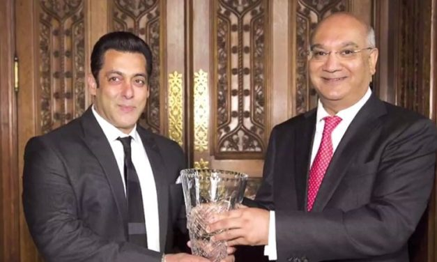 Salman Khan receives Global Diversity Award