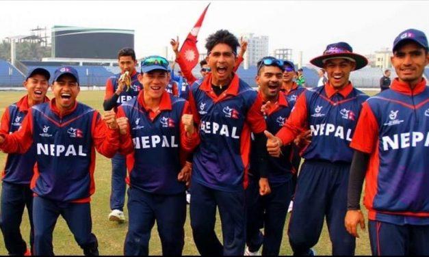 एसीसी यु १९ क्रिकेटमा नेपाल समूह विजेता बन्दै अघिल्लो चरण प्रवेश