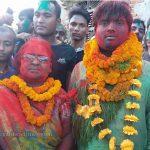 माओवादी केन्द्र र राजपा विजयी, जुलुस निकालियो