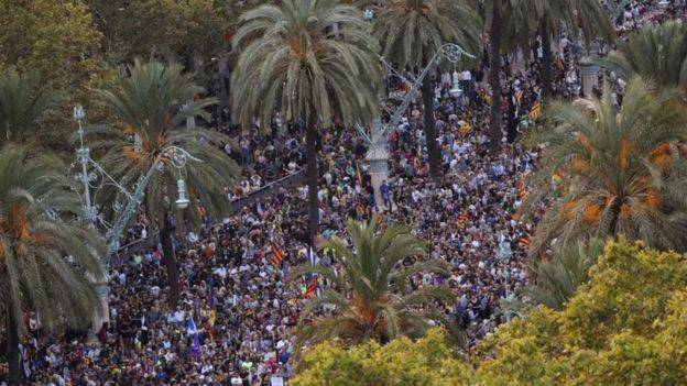 स्वतन्त्रता घोषणा गरेको हो कि होइन, स्पेन सरकारले माग्यो स्पष्टिकरण