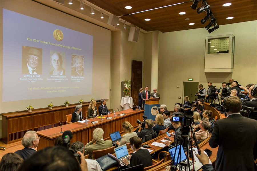 Three scientists share Nobel Prize in Physiology or Medicine