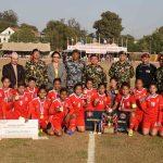 AFP lifts 5th COAS International Women Football Tournament title