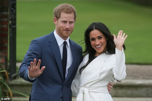 Prince Harry says he fell for Markle 'first time we met'
