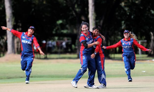 Nepal beats Malaysia to register first victory in ICC Women's World T20 Asia qualifier