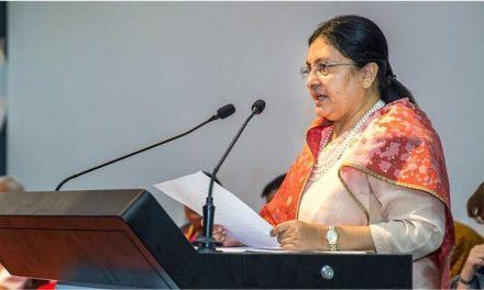 Collaboration must to save Hindu Kush Himalayan biodiversity: President Bhandari