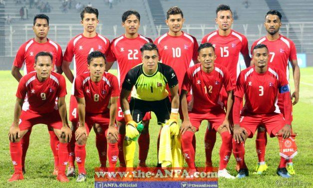 विश्वकप छनौट फुटबलः नेपाल जोर्डनसँग भिड्दै