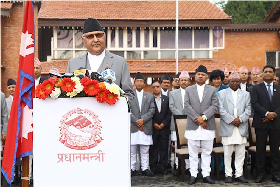 PM addresses the nation on New Year 2076; commits to peace and development
