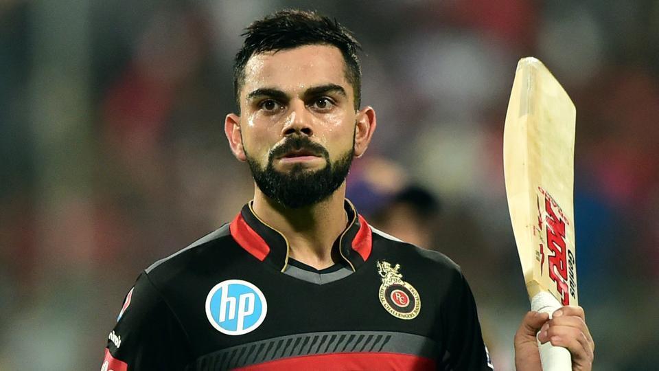 आइपीएल क्रिकेटः बैंगलोरलाई पहिलो झड्का, कोहली आउट
