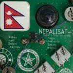 नेपाली स्याट–१ ले लियो तीन मुलुकको तस्वीर