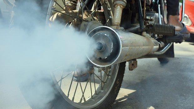 मोटरसाइकलको प्रदूषण जाँच नगरेसम्म वायु स्वच्छ नहुने