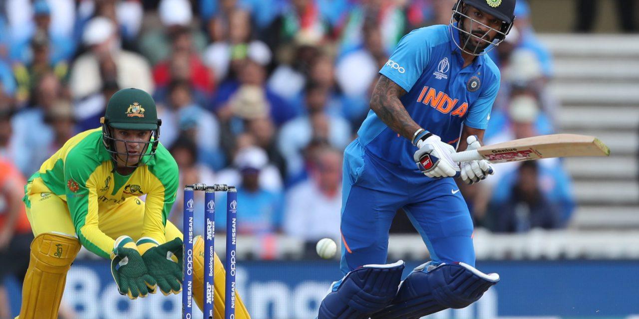 विश्वकप क्रिकेटः भारतद्वारा अष्ट्रेलियासामू ३ सय ५३ रनको लक्ष्य