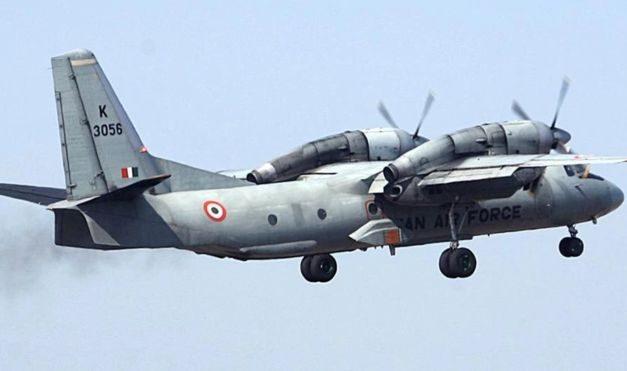 भारतीय वायुसेनाको विमान दुर्घटनाग्रस्त अवस्थामा फेला