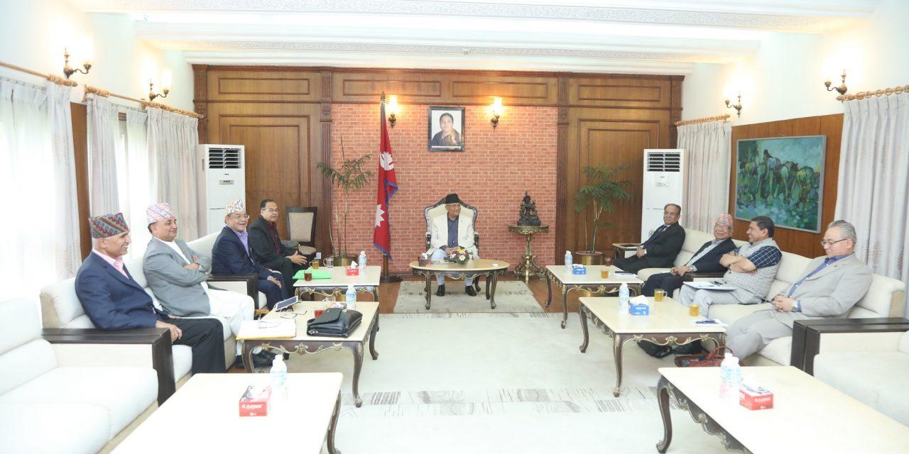 नेकपा सचिवालय बैठक आज पनि स्थगित