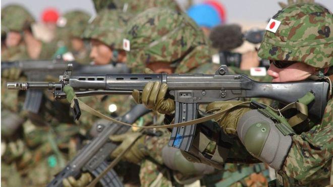 जापानको चासाे सुरक्षा चुनाैतीमा, रक्षा बजेट भारी वृद्धि