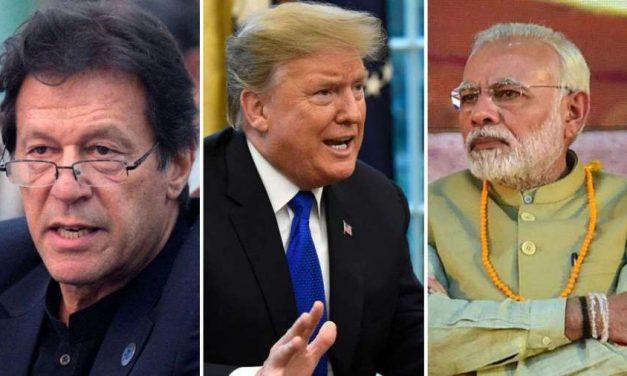 कश्मीरबारे भारत र पाकिस्तानी प्रधानमन्त्रीसँग ट्रम्पको फोनवार्ता