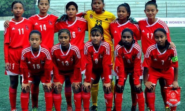 महिला साफ च्याम्पियनसीप:नेपालको पहिलो प्रतिद्वन्द्वी भारत
