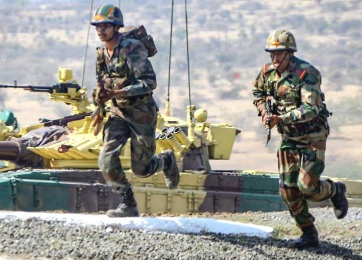 चीनको सीमानजिक पाँच हजार भारतीय सेना !