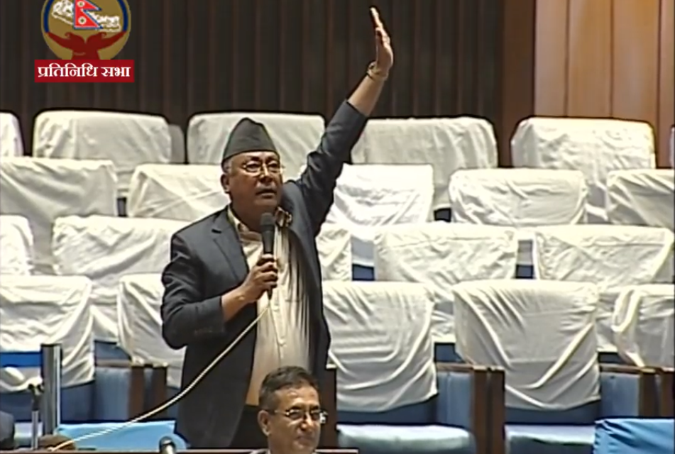 संसदमा कृष्णगोपालको प्रश्नः कति सांसदलाई डेंगु लागेपछि सरकारले बोल्ने हो ?