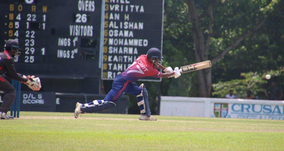 एशिया कप क्रिकेटः युएईलाई नेपालले दियो २ सय ८६ रनको लक्ष्य