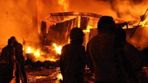 सप्तरीमा आगलागी, चार घर पूर्णरुपमा नष्ट