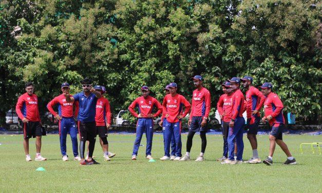 श्रीलंकामा एशिया कपको तयारी गर्दै युवा क्रिकेट टोली (फोटो फिचर)