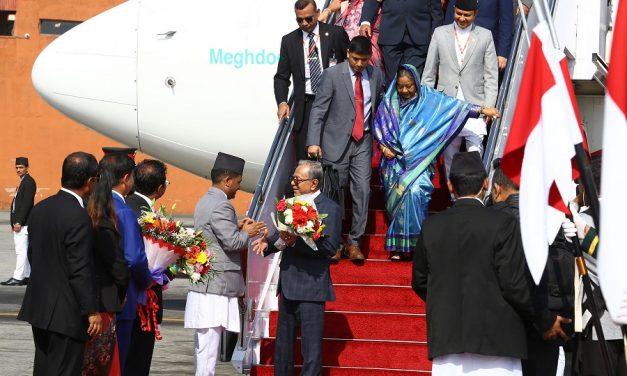 बंगलादेशका राष्ट्रपतिको नेपाल यात्रा (फोटो फिचर)
