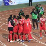 बंगलादेशलाई हराउँदै नेपाल साग फुटबलको फाइनलमा