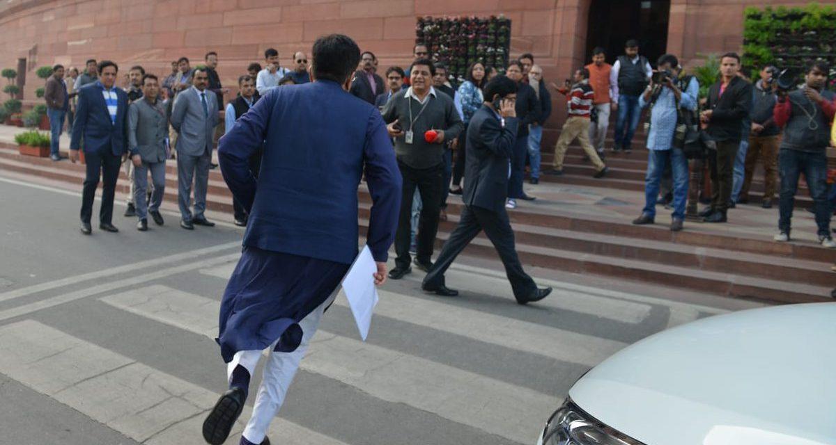 भारतमा जब रेल मन्त्री दौडेर संसद भवन पुगे…