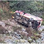 सवारी दुर्घटनामा ५ जनाकाे मृत्यु