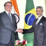 भारत र ब्राजिलबीच १५ बुँदे सम्झौता