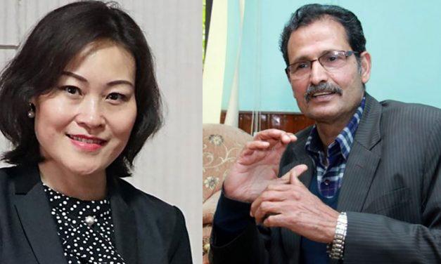 सभामुखको पदभार लगत्तै चिनियाँ राजदुत सिंहदरबारमा, आधाघण्टा कुराकानी