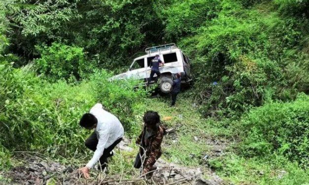 बिहानै बिरामी बोकेको बोलेरो दुर्घटनाः एकजनाको मृत्यु, तीन गम्भीर घाइते